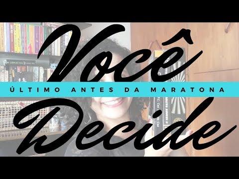 VOCÊ DECIDE #4 - O QUE VOU LER NA MARATONA DOS 7LIVREIROS? | Livraneios