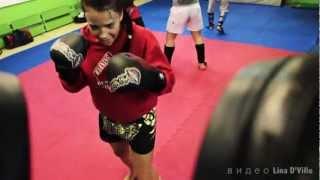 РИНГ (спорт, мотивация, тайский бокс) автор Lina D