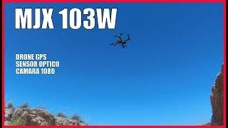DRONE CAMARA 1080 GPS, (solo 248 Gramos)???? ECONOMICO, MJX 103W