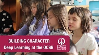 Building Character (Elementary) -  Deep Learning