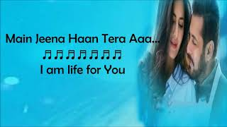 Dil Diyan Gallan Song Lyrics   Atif Aslam   Lyrics With  Tiger Zindai Hai