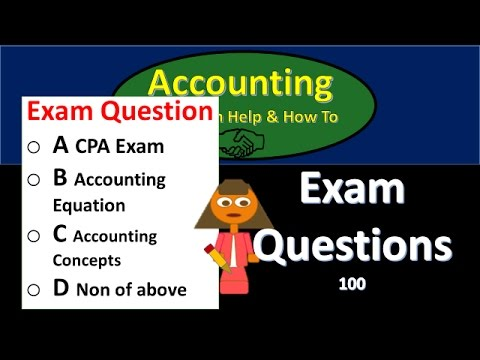 100.100 Test question practice problems Accounting Equation ...