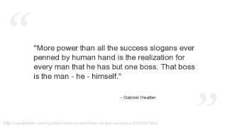 Gabriel Heatter Quotes
