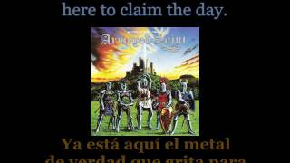 Armoured Saint - March Of The Saint - Lyrics / Subtitulos en español (Nwobhm) Traducida