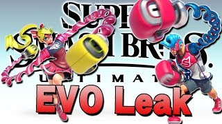 Super Smash Brothers Ultimate - Potential EVO Newcomer Leak!?