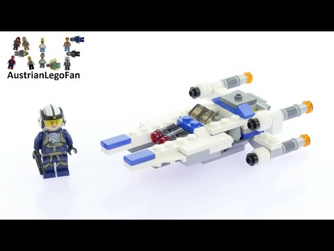 Vidéo LEGO Star Wars 75160 : Microvaisseau U-Wing