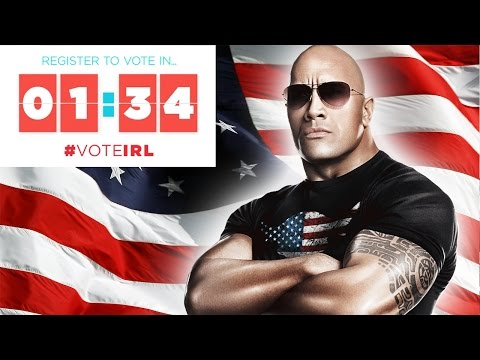 Register to Vote in 1:34 with Dwayne