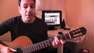 Beyonce - love on top Dror Zamir guitar tutorial