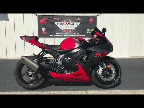 2016 Suzuki GSX-R600 in Greenville, North Carolina - Video 1