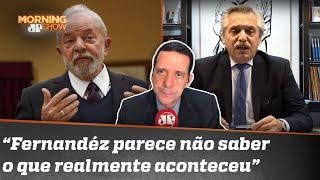 Em defesa de Lula, presidente da Argentina se mete na política do Brasil | Morning Show