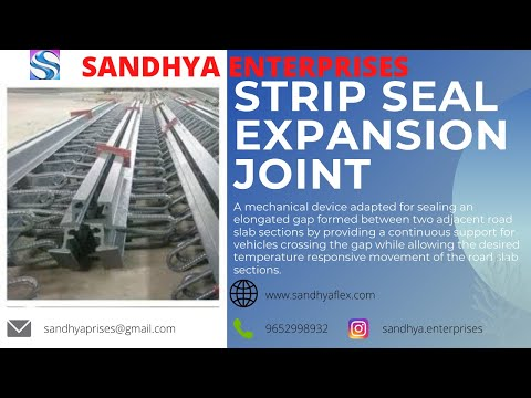 40mm Gap Sandhyaflex Strip Seal Expansion Joint
