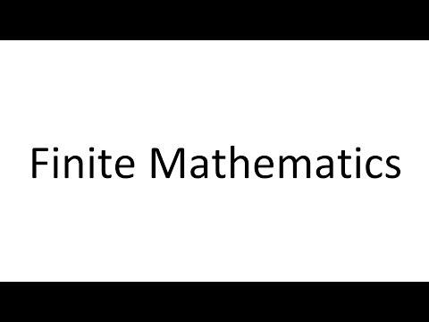 Online Finite Mathematics Welcome Video