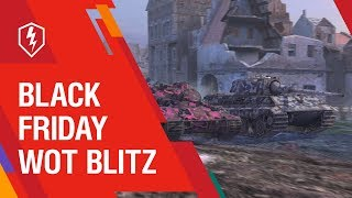 Big Discounts! Black Friday in WoT Blitz