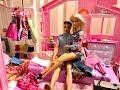 Barbie Bedroom Routine POOL