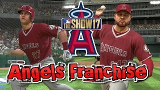 MLB The Show 17 Angels Franchise EP1 Team Overview & Opening Day vs Oakland MLB 17