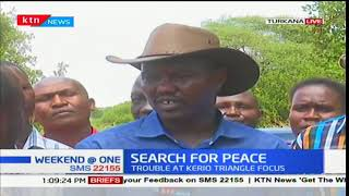 Leaders from the volatile Kerio triangle are holding a peace meeting