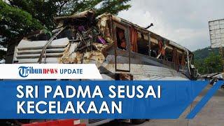 Penampakan Bus Sri Padma Kencana Terjun ke Jurang di Subang dan Tewaskan 29 Orang, Body Hancur