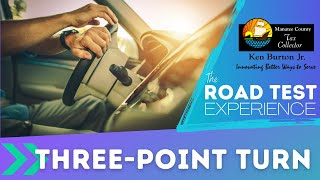 Thumbnail image of YouTube video for Three-point Turn road test video