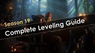 Diablo 3 Season 19 Leveling Guide