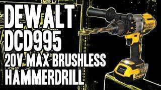 DEWALT DCD995M2 20-Volt Max XR Lithium Ion Brushless Premium 3-Speed Hammerdrill DCD995 / DCD995B