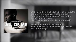 John Legend   All Of Me ( LYRICS   KARAOKE   INSTRUMENTAL )