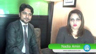 Nadia Ameen is Launching her official website through Kamran Hayat CEO. Kamariiadd