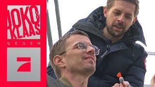 Bromance: Kann Joko seine Höhenangst mit Hilfe von Klaas besiegen? | Joko und Klaas gegen ProSieben