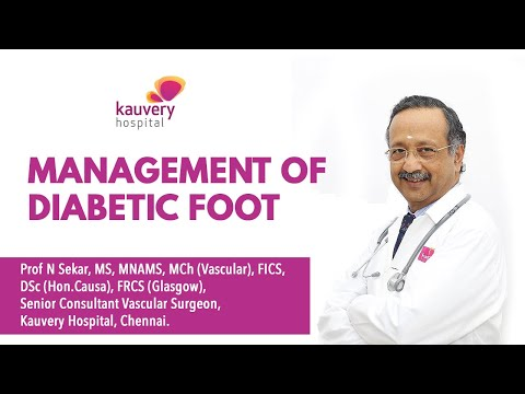 Management of Diabetic Foot