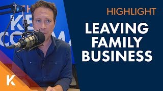 How Do I Leave The Family Business The Right Way?