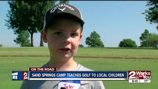 Sand Springs Camp Teachers Golf to Local Children