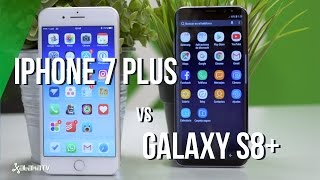 Galaxy S8+ vs iPhone 7: a fondo en la guerra a muerte en gama alta