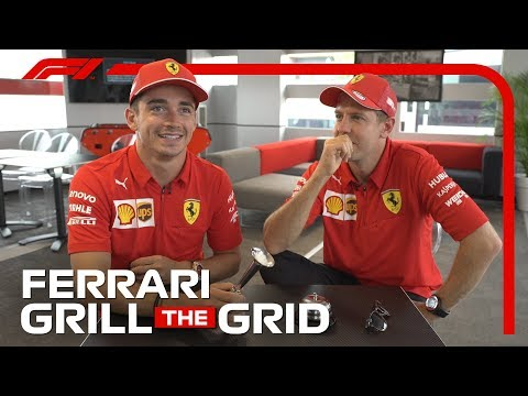 Video | Grill The Grid met Charles Leclerc en Sebastian Vettel
