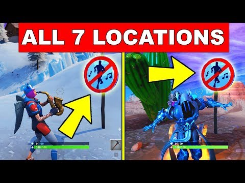 Dance In Different Forbidden Locations All 7 Locations Week 1