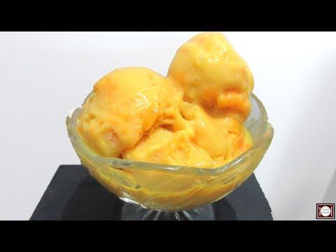 Video Mango Ice Cream Recipe | Mango Ice Cream Recipe in Hindi | Homemade Ice cream | Eggless Ice cream