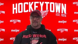 Steve Yzerman | Detroit Red Wings Virtual Season-Ending Press Conference
