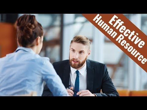 Effective Human Resource Administration - Video Training Course ...
