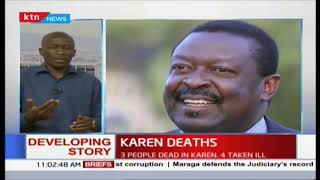 Three workers contracted by Mudavadi die mysteriously after 'drinking unknown concoction'