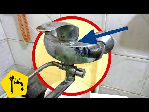 ✅ Ремонт СМЕСИТЕЛЯ в ванной: если СЛАБЫЙ НАПОР ВОДЫ / Ремонт сантехники