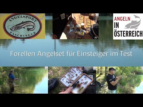Einfach und Günstig auf Forellen Angeln / Angelset im Test / FULL HD