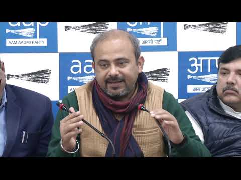 AAP Councillors Will Not tolerate the hooliganism of BJP Councillors