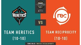 Team Heretics vs Team Reciprocity | CWL Pro League 2019 | Cross-Division | Week 12 | Day 3