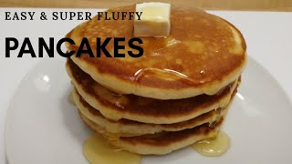 how to get fluffy pancakes without baking powder