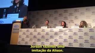 WonderCon 2015 - Jordan imite Alison
