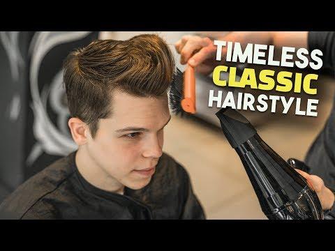Timeless Men's Classic Business Haircut Tutorial   BluMaan 2018