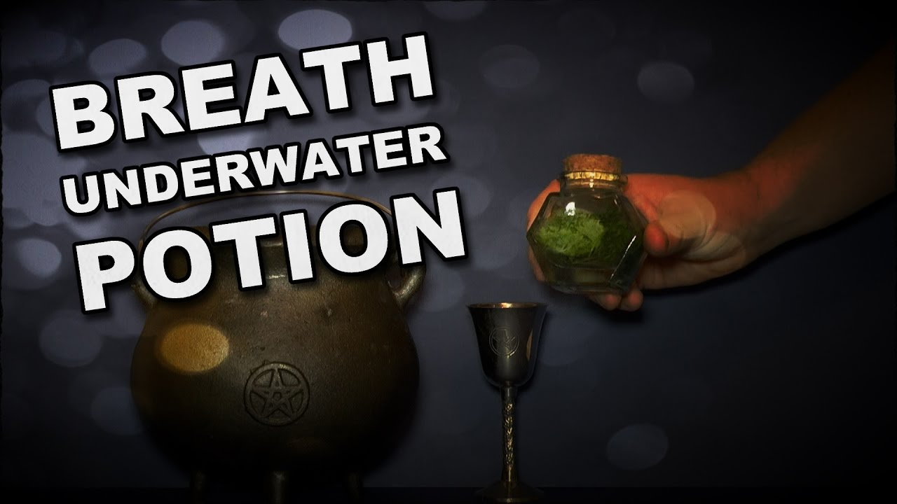 How To Make A Potion To Let You Breath Underwater