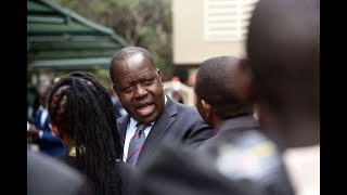 CS Matiangi talks about the preparations for the forthcoming