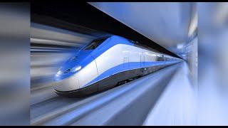 Поезд Санкт Петербург - Москва скорость 10.000 км/ч