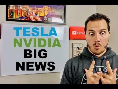 ELON MUSK BIG TESLA NEWS & NVIDIA STOCK CRASHES ON EARNINGS онлайн видео