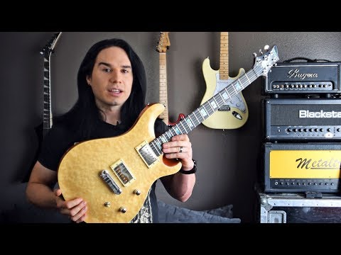 High-end Guitar for a Budget Price – Wolf WPRS – Demo / Review