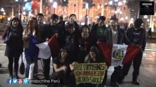 "Indochine Peru: ""¡Feliz cumpleaños Nicola Sirkis!"""